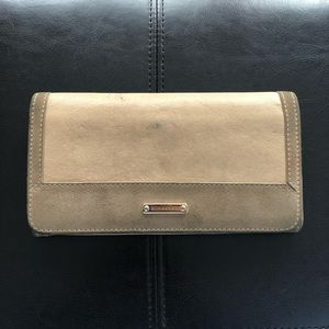 Authentic Burberry Leather Wallet